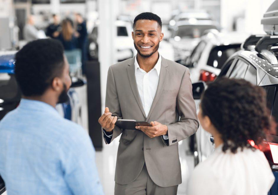 automobile dealer dealing